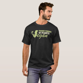 Vegan - Proudly Powered by Plants T-Shirt