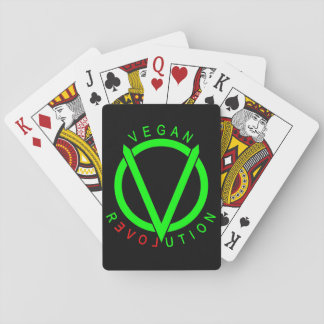 Vegan Revolution Playing Cards
