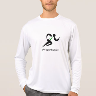 Vegan runner hashtag T-Shirt