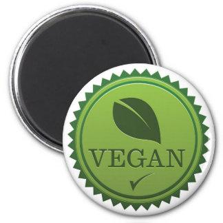 Vegan Seal 2 Inch Round Magnet