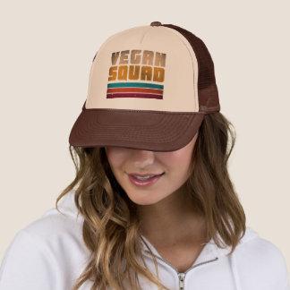 Vegan Squad Vintage Trucker Hat