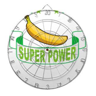 VEGAN SUPER POWER . DARTBOARD