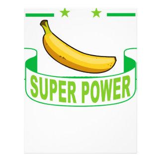 VEGAN SUPER POWER . LETTERHEAD