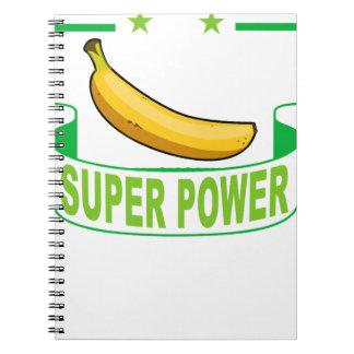 VEGAN SUPER POWER . NOTEBOOK