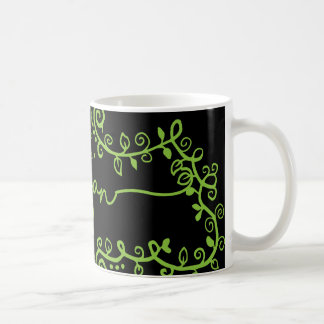 Vegan Swirls Coffee Mug