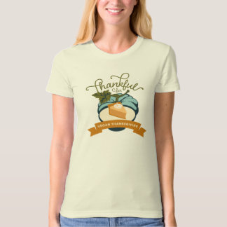 Vegan Thanksgiving Pumpkin Pie - Women's Organic T-Shirt