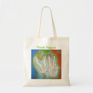 Vegan Think Tote Bag