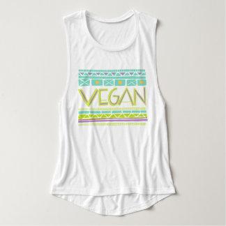 Vegan/Tribal Print Tank Top
