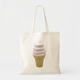 vegan vanilla cone