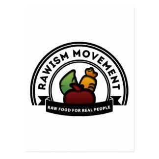 Vegan Vegetarian Raw Movement Post Cards