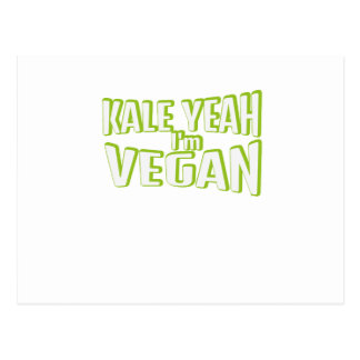 Vegan Vegetarian Vegetable Animal Free Gift Postcard