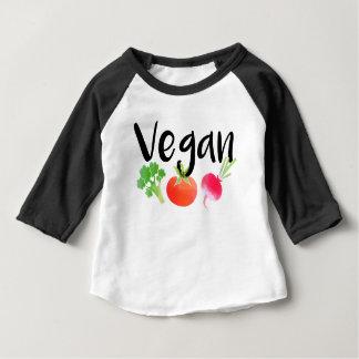 """""""Vegan"""" veggies baby Baby T-Shirt"""