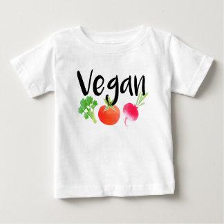 """Vegan"" veggies baby shirt"
