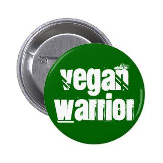 Vegan Warrior 2 Inch Round Button