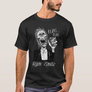 Vegan Zombie Black T-Shirt