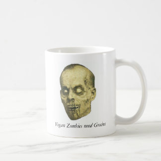 Vegan Zombie Coffee Mug