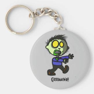 Vegan Zombie Key chain