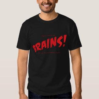 Vegan Zombies Eat Brains! Tshirt