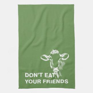 Veganism Kitchen Towel