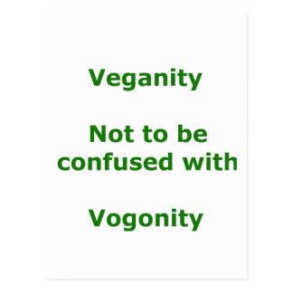 Vegans and Vogons Postcard
