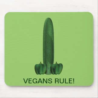 Vegans Rule! Mouse Pad