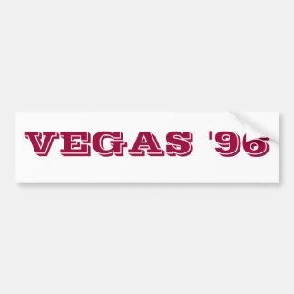 VEGAS '96 CAR BUMPER STICKER