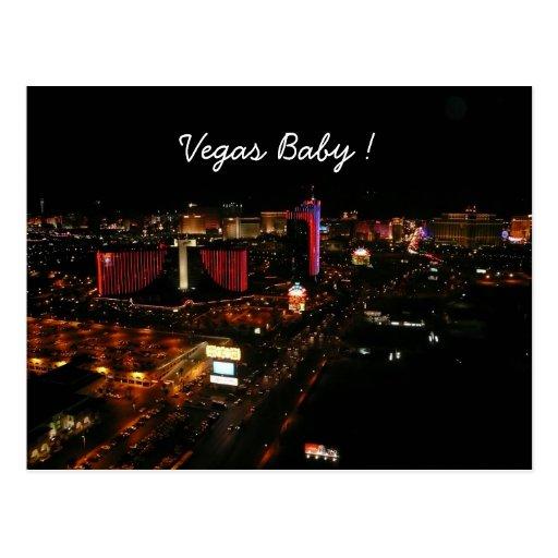 vegas baby ! postcard