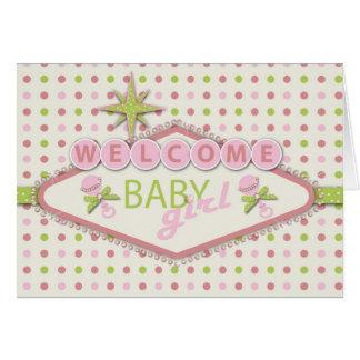 Vegas Baby Shower Invitation Card 2