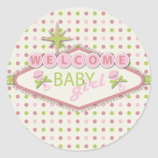 Vegas Baby Sticker