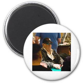 Vegas Bob 2 Inch Round Magnet