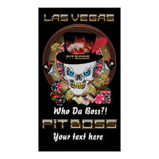 Vegas Casino Pit Boss View Artist Comments Posters