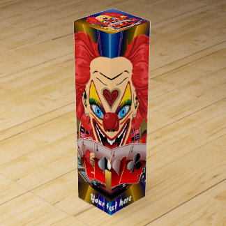 Vegas Clown Any Party View About Design Wine Gift Box