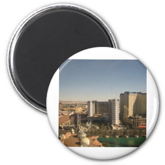 Vegas Day 2 Inch Round Magnet