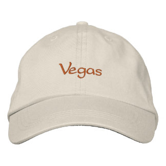 Vegas Embroidered Hat