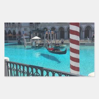 Vegas Gondola Boat Water Italy Venetian Sticker