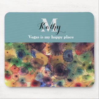Vegas is my happy place mouse pad. mouse pad