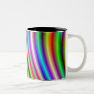 Vegas Lights Two-Tone Coffee Mug