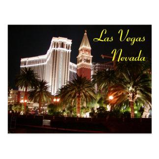 Vegas Nights Postcard