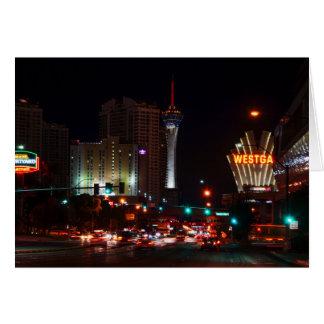 Vegas Paradise Road Card