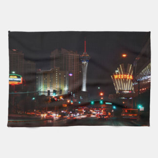 Vegas Paradise Road Kitchen Towel