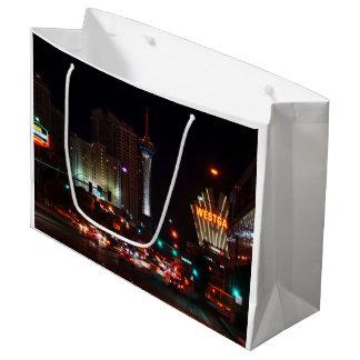 Vegas Paradise Road Large Gift Bag