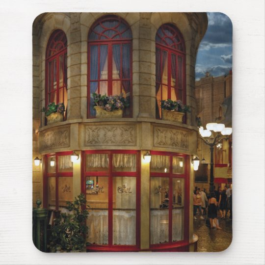 Vegas - Paris - Le Cafe Mouse Pad