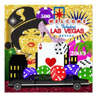 Vegas Party - Casino / Poker - SRF Personalized Invite