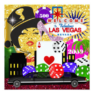 Vegas Party - Casino / Poker - SRF Custom Announcement