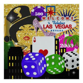 Vegas Party - Casino / Poker - SRF Custom Invites