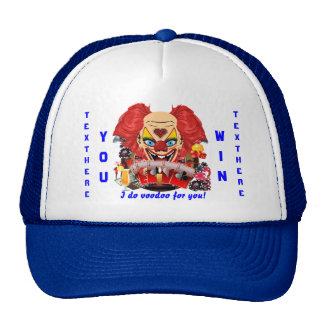 Vegas Party Voodoo Clown Any Event View Notes Trucker Hat