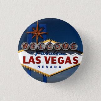 Vegas Sign Dusk 1 Inch Round Button