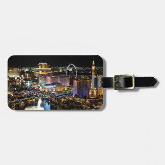 Vegas Skyline Bag Tag