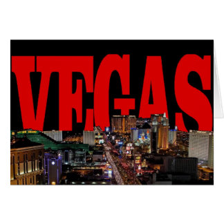 VEGAS Strip Invitation Card