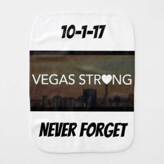 Vegas Strong Burp Cloth